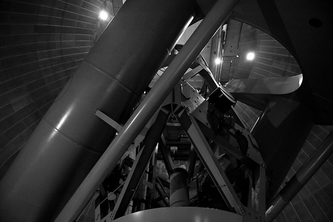200 inch Hale Telescope at the Palomar Observatory